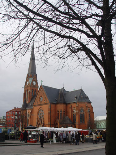 Gustav Adolf Church, Central Helsingborg